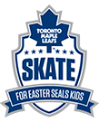 Toronto Maple Leafs Skate for Easter Seals Kids
