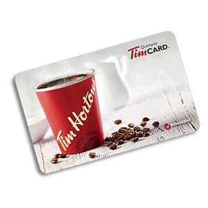 A $25 Tim Hortons Gift Card