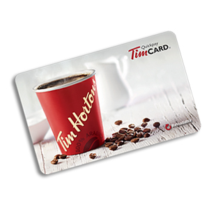 $25 Tim Hortons gift card
